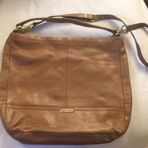 Super soft leather Genuine Coach bag